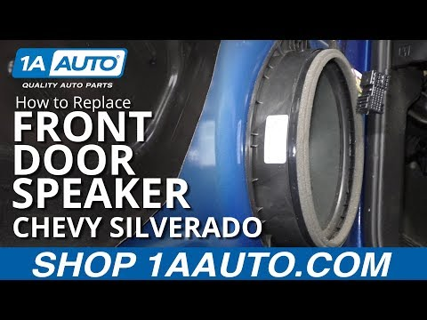 How To Replace Front Door Speaker 14-19 Chevy Silverado