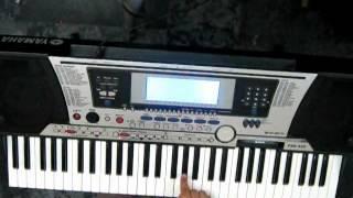 aaja sanam madhur chandni mein hum piano tutorial