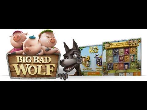 Три Поросенка Играю Онлайн с Неубывающим Интересом.НАЧИНАЮ  ИГРАТЬ В АППАРАТ BIG BAD WOLF!