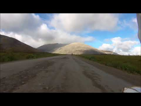 Dempster Highway to Tuktoyaktuk on Super Tenere