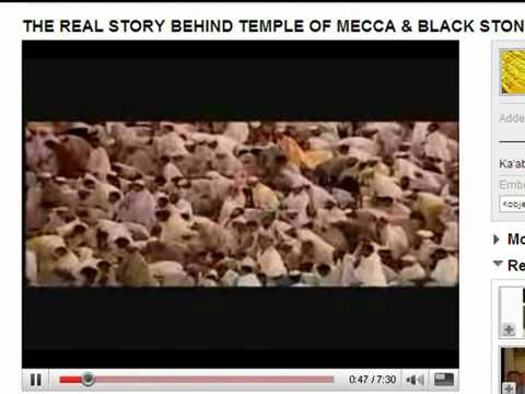 The real story behind temple mecca and black stone youtube