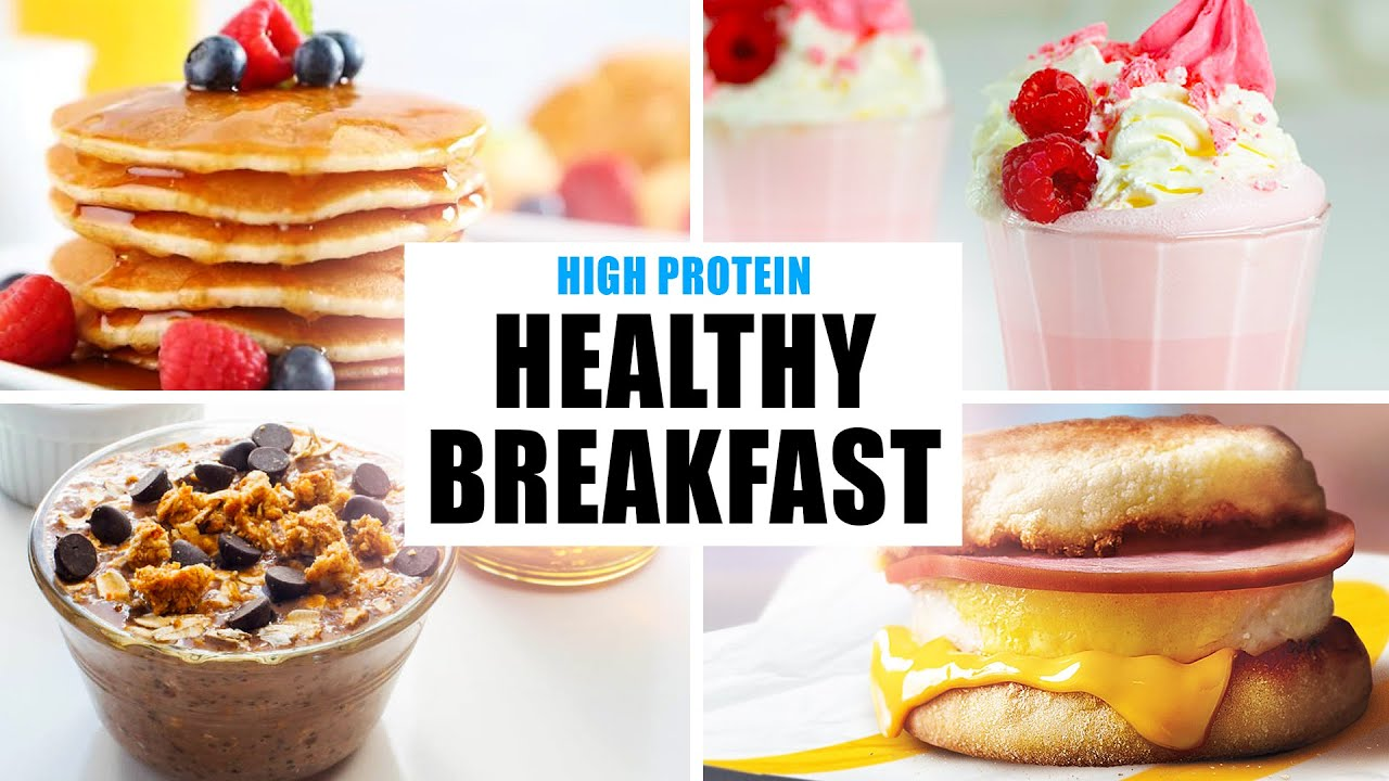 Healthy & Easy *BREAKFAST* Meal Prep on a Budget (4 Recipes)