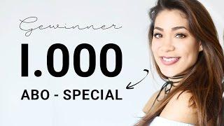 [GEWINNER] I000 ABO Special Verlosung | AnnKath beauty