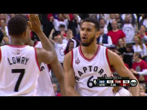 Indiana Pacers vs Toronto Raptors - April 26, 2016
