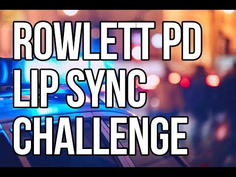 Rowlett Police Department Lip Sync Challenge