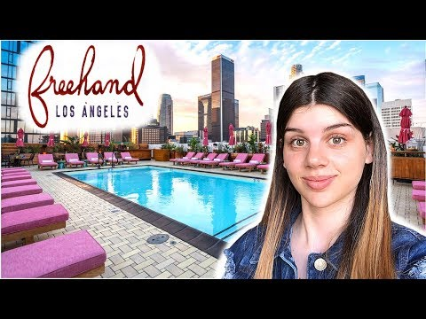 Freehand Los Angeles Hotel Review + Exploring Koreatown LA | Travel Review Vlog