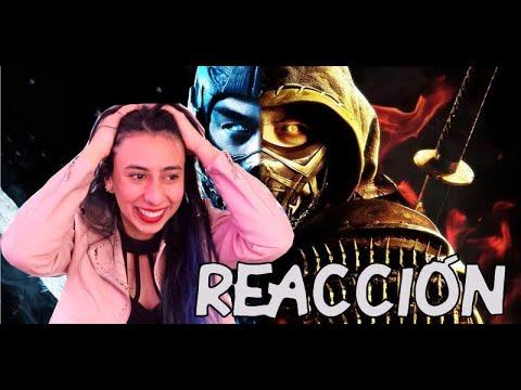 ???? MORTAL KOMBAT trailer REACCIÓN ???? ¡¡Bruuuutaaaaal!! lo amé ???? Maritza Ariza