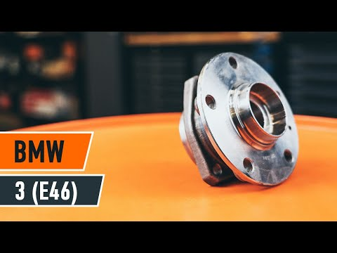 How to replace front wheel bearing on BMW 3 E46 TUTORIAL | AUTODOC