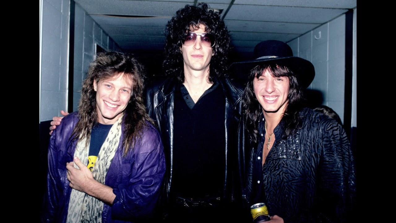 On Tour With Bon Jovi In The 1980s - Flashbak