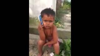 Percakapan Anak Kecil Sok Hebat