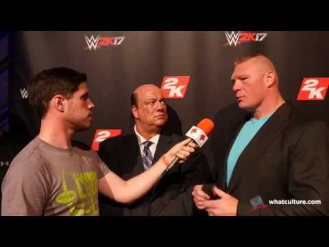 Brock Lesnar Calls Out Bill Goldberg
