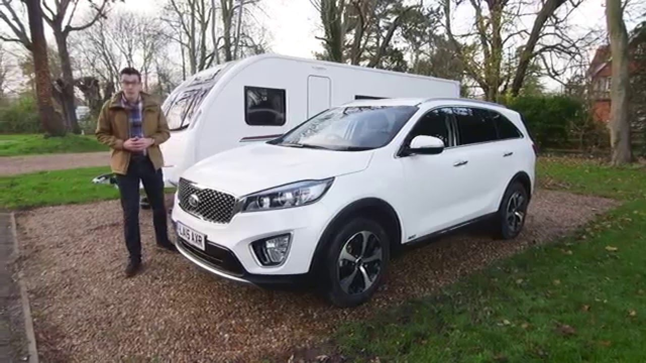 Elegant Kia Sorento Towing Review With The Camping And Caravanning Club