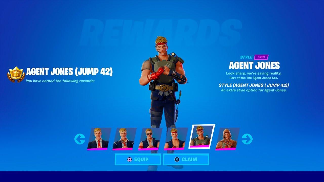Download How to Unlock Agent Jonesy Jump Styles in Fortnite (All Agent Jones Challenges)