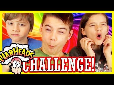 WARHEADS CHALLENGE!! | EXTREME SOUR! | KITTIESMAMA