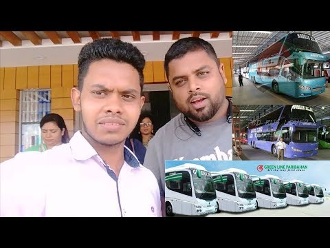 Vlog in Greenline Double Decker & enjoying the free Buffet! (Chittagong to Dhaka)