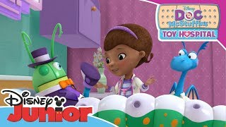 Doc McStuffins | Leo the Caterpillar Needs Help | Disney Junior Arabia