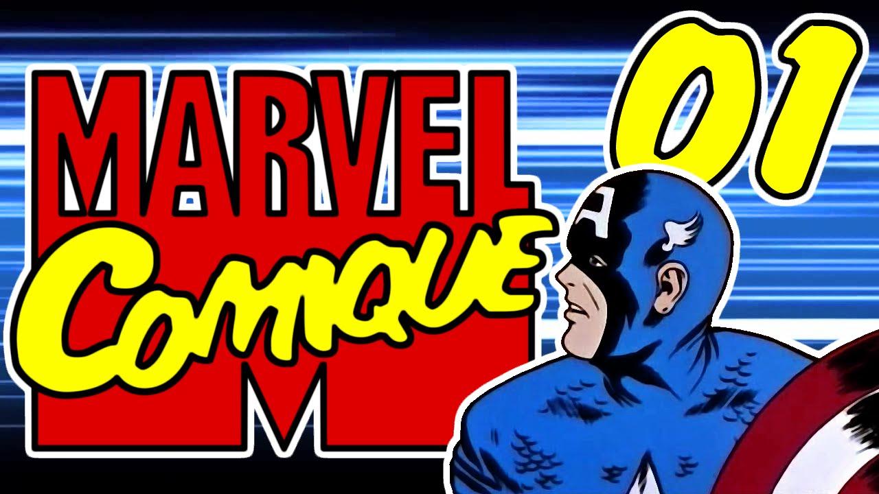 [Parodie] Marvel Comique #1 - Un gros mal de crâne... Rouge