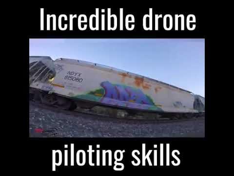 incredible drone piloting skills