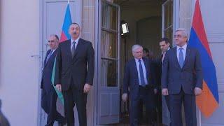 Azerbaijan and Armenia meet over disputed territory