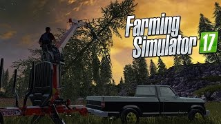 Farming Simulator 17 - Logging and Forestry Gameplay! - Farming Simulator 2017 Gameplay