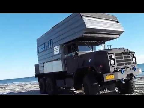 6x6 Camper On The Beach Longer Version Youtube