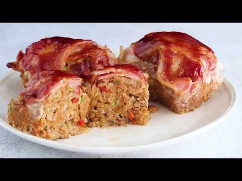 Meatloaf recipe with bbq sauce and bacon