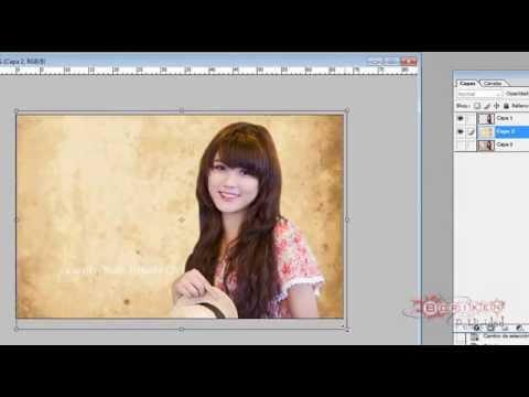 como calar una imagen con photoshop - YouTube