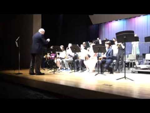 Charles Town Middle School Spring Concert 1st Period Jazz Band 2013
