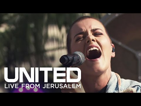 The Hillsong Israel Tour from the Steps on the Temple Mount
