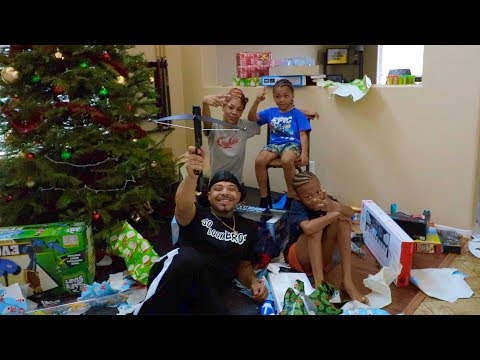 My Kids Christmas Was Lit | DJ Ghost Vlog
