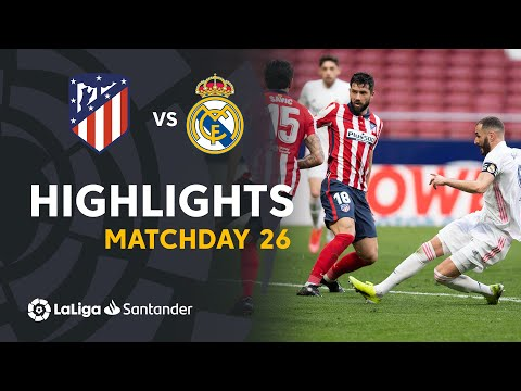 Atletico Madrid Real Madrid Goals And Highlights