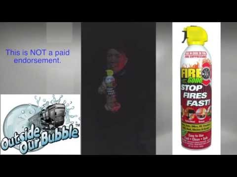 Great Foam Fire Extinguisher Demo