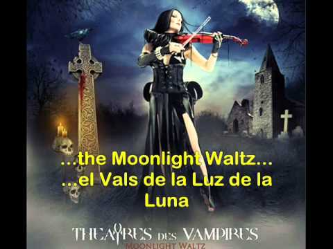 Theatres des Vampires - Moonlight Waltz [HQ] (Lyrics/ Sub español)