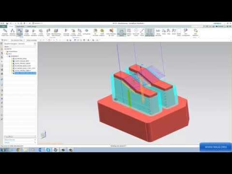 Hướng dẫn lập trình gia công điện cực trên phần mềm NX 10 nxug.org