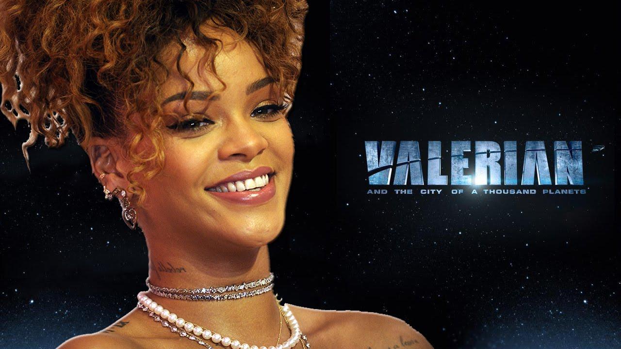 Rihanna habla sobre su participación en la nueva película Valerian