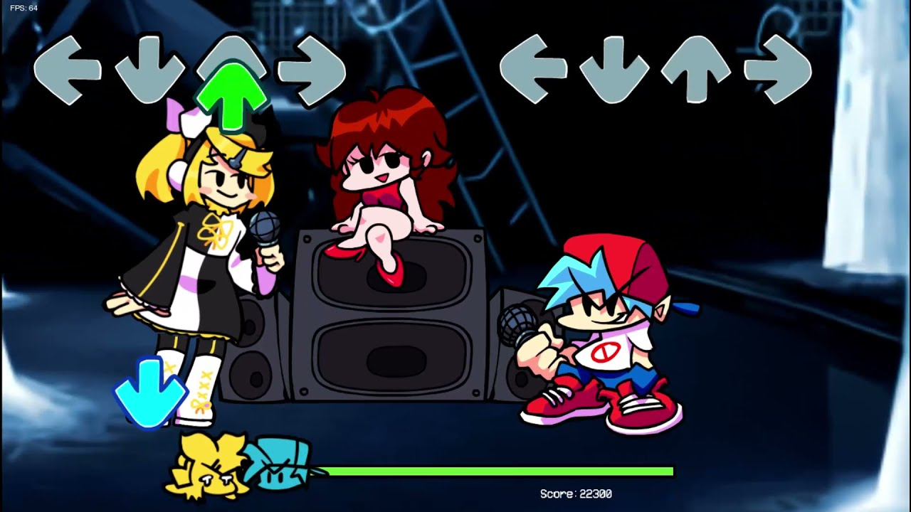 Friday Night Funkin   Kagamine Rin   Full Week   Subtitulado   Hard   Secret Song   Copy  