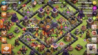 Saques e ataques - Clash of Clans - 1° vídeo