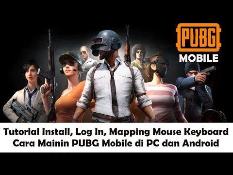 Cara Mainin Dua Game PUBG Mobile di PC dan Android (Cara Install, Log In, Mapping Keyboard) - 동영상