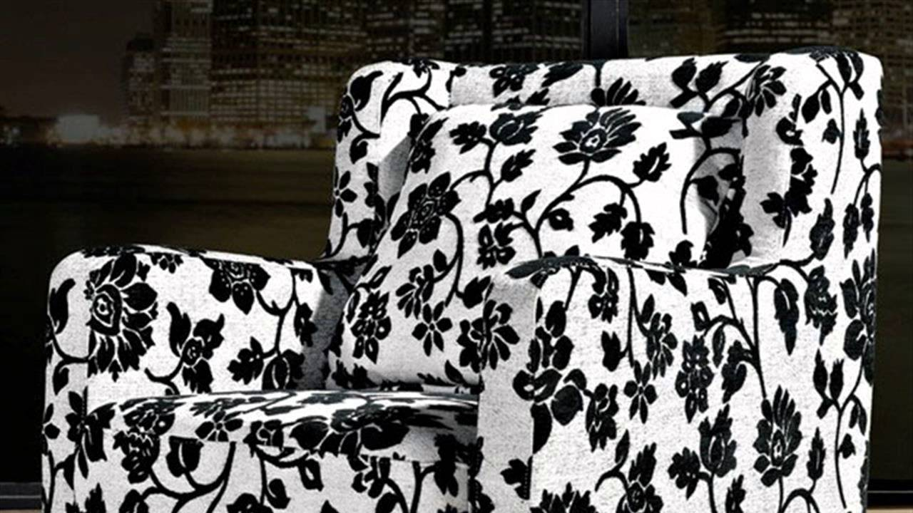 HOW TO : Recover Armchairs - YouTube