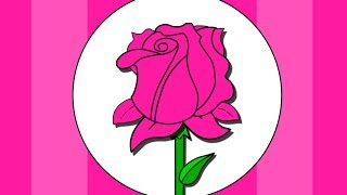 """pink Flower"" - Color Songs Learning Colours Nursery Rhymes For Children, Baby Lullaby,"
