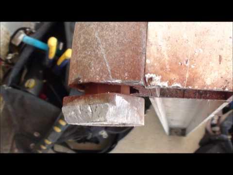 Kawneer Storefront Door Pivot Replacement (retrofit)