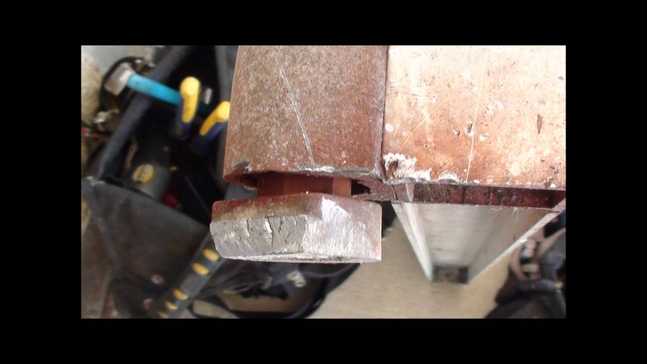 & Kawneer Storefront Door Pivot Replacement (retrofit) - YouTube