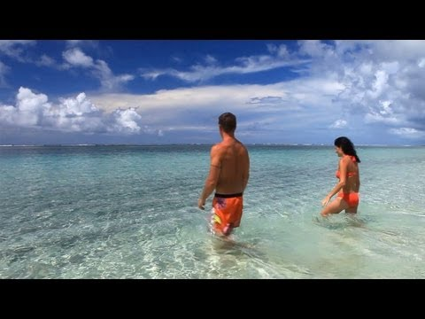 Lalomanu Beach and Apia Markets, Samoa 2013, Travel Video Guide
