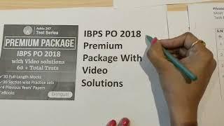 IBPS PO 2018 Premium Online Test Series | Start Your Preparation for IBPS PO