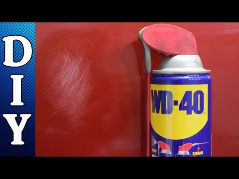 Removing Scratches From Your Car Using WD-40 Hack - Final Ju
