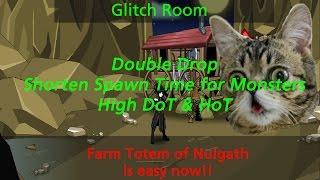 aqw glitch room boost drop rate spawn time hot dot