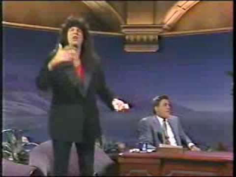 HOWARD STERN FIRST APPEARANCE ON TONIGHT SHOW WITH JAY LENO 1992