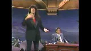 HOWARD STERN FIRST APPEARANCE ON TONIGHT SHOW WITH JAY LENO 1992 video thumbnail