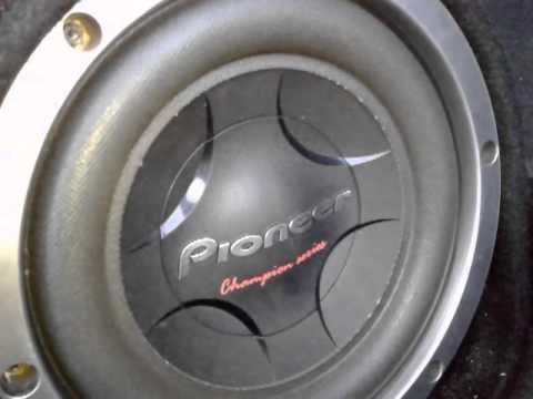 """Pioneer 12"""" Ampli Clase Dиз YouTube · Длительность: 2 мин8 с"""