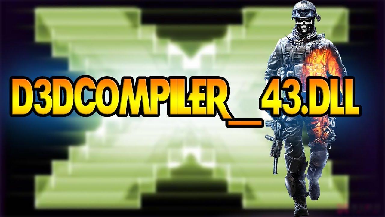 d3dcompiler 43.dll battlefield 3